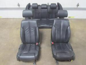 06 07 Volkswagen Passat Front Rear Seat Set Complete Black Leather Oem Memory