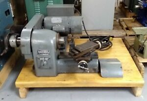 Hardinge Hsl 59 Super precision Lathe With Compound Cross slide 115 Volts