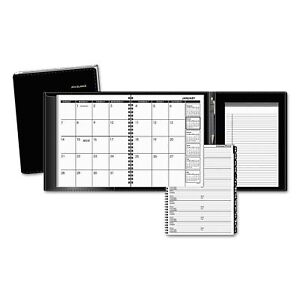 At a glance Plus Monthly Planner 6 7 8 X 8 3 4 Black 2019
