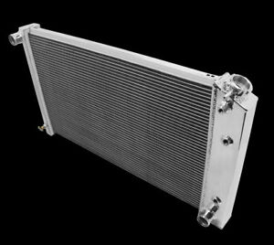28 Core Radiator Fit 1970 1976 Chevy Monte Carlo Aluminum 3 Row Brand New