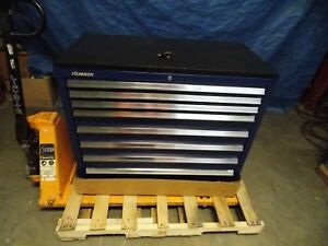 Kennedy 8 Drawer Steel Roller Cabinet 39 3 8 X 42 X 20 2800 Lb Cap 3900mpbl