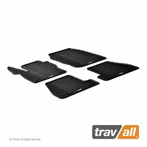Travall Car Floor Mats All Weather Rubber Liner For Ford Focus 2010 2014
