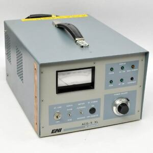 Eni Acg 5 Xl Rf Generator 50 500 Watts 13 56mhz Air cooled Plasma Acg 5 01m5