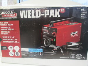 Lincoln Electric Weld pak Nr 211 mp Flux cored Wire Feed Welder