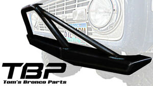 Impact Series Front Bumper W Pre Runner Bar 1966 1977 Ford Bronco By Tbp