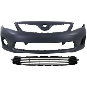 Bumper Cover Kit For 2011 2013 Corolla Models Made In North America Capa
