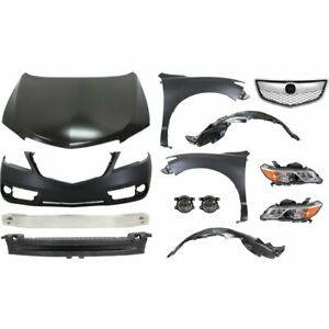New Kit Auto Body Repair Front For Acura Rdx 2013 2015