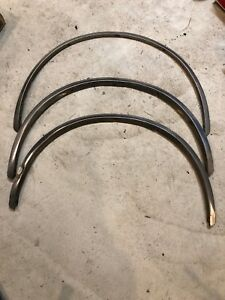 80 83 Mk1 Vw Rabbit Pickup Fender Arch Trim Stainless Moulding Caddy Diesel