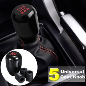 Universal 5 Speed Aluminum Auto Car Manual Shift Knob Gear Stick Shifter Lever