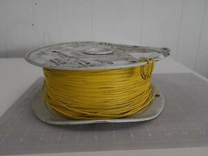 Lot Of 1700 Ft Industrial Electric Tew22 4 03706400 Wire 22 Awg 7tc Pvc 1015 12