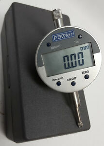 Fowler 54 520 255 Direct Inch Metric Electronic Indicator 2 1 4 Dial Face