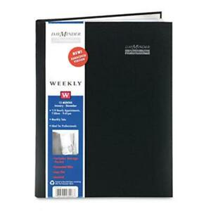 At a glance G520h00 Premiire Professional Weekly Appointment Book 8 X 11 Black