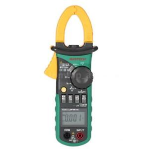 Mastech Ms2108a Ac Dc Current Voltmeter Resistance Clamp Meter Multimeter W0y4