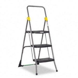Cosco Commercial 3 step Folding Step Ladder