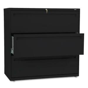 Hon 700 Series 42 inch Wide 3 drawer Lateral File Cabinet