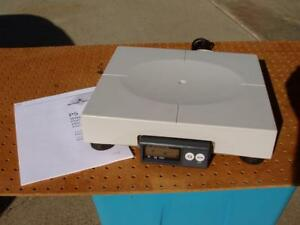 Mettler Toledo Ps60 Usb Shipping Scale 150lb X 0 05 Capacity Abs Platter Nice