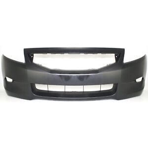 New Primered Front Bumper Cover Fascia For 2008 2010 Honda Accord Coupe 2 Door