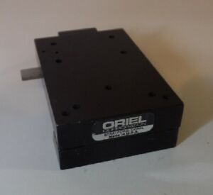 Oriel Instruments Dovetail Optical Rail Carrier Stage 26mm