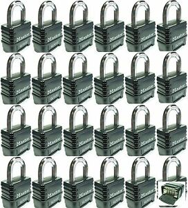 Combination Lock Set By Master 1178d lot 24 Resettable Weather Sealed Carbide