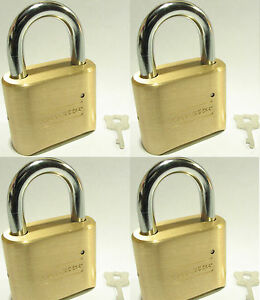 Lock Brass Master Combination 175 lot 4 4 Dial Resettable High Security