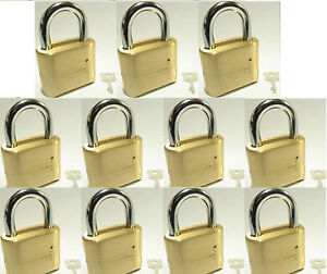 Lock Brass Master Combination 175 lot 11 4 Dial Resettable High Security