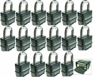 Combination Lock Set By Master 1178d lot 16 Resettable Weather Sealed Carbide