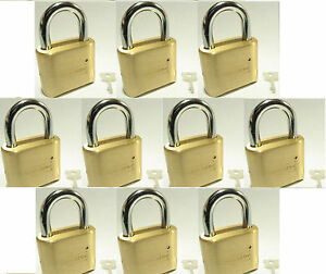 Lock Brass Master Combination 175 lot 10 4 Dial Resettable High Security
