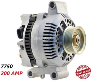 200 Amp 7750 Alternator Ford Mazda Mercury High Output Performance Hd New Usa
