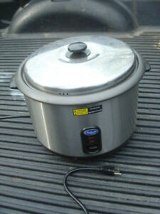 Globe Chef Mate Rice Cooker Pot Warmer Cprc25 Commerical Restaurant Food Trailer