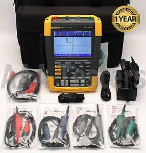 Fluke 190m 4 Medical Scopemeter 4 Channel 200mhz Oscilloscope 190m 4 190 204