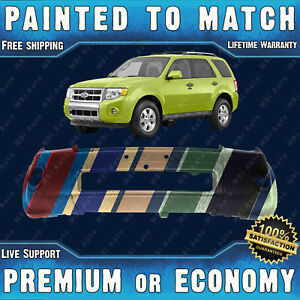 New Painted To Match Front Bumper Replacement For 2008 2012 Ford Escape 08 12
