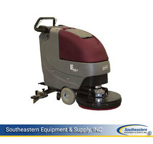 Demo Minuteman E20 Disk Brush Driven Automatic Scrubber