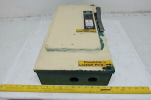 Siemens F353 Ser A Fusible Disconnect Safety Switch 600v Ac 100a 3 Pole Indoor
