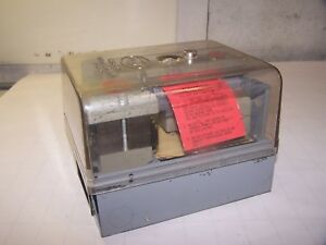 New Fireye Solid State Burner Management Primary Safety Control Series D 70d40