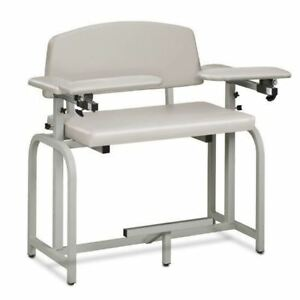 Clinton Lab X Series Extra wide And Extra tall Blood Drawing Chair With Padded A