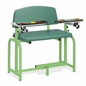 Clinton Pediatric Series spring Garden Extra Wide Blood Drawing Chair