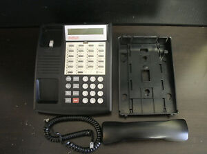 Lucent Avaya Partner 18d Euro 18 Button Display Phone Telephone Black 108883257
