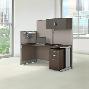 Bush Business Furniture Office In An Hour 65w X 33d Cubicle Workstation With