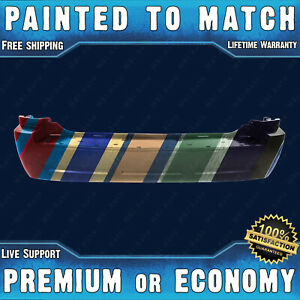New Painted To Match Rear Bumper Replacement For 2005 2010 Jeep Grand Cherokee