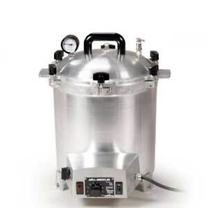 All American 50x Electric Small 25 Quart Benchtop Autoclave Sterilizer 120v