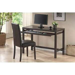 Modern Brown Desk And Chair Set