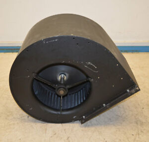 Big Squirrel Cage Blower Fan Exhaust Opening 16 x14 5 Oa 24 x22 x23 Shaft 1
