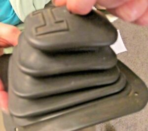 Vintage Original Hurst Shifter Boot 5 25 By 6 375 Part 2374 Aw Rubber