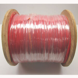 New Approx 4 675 Ft 22awg Red Ul1015 Hook Up Wire 600v Stranded Electrical