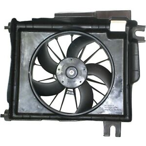 Radiator A c Ac Condenser Cooling Fan Motor New For Dodge Ram Pickup Truck