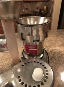 Excellent Ruby 2000 Commercial Juicer Heavy Duty