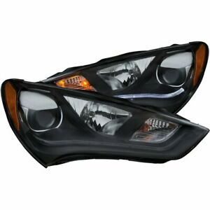 Anzo 121511 Headlight For 2013 2015 Hyundai Genesis Coupe Hid Left And Right 2pc