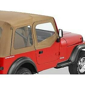 Bestop New Set Of 2 Half Doors Front Jeep Wrangler 1988 1995 Pair