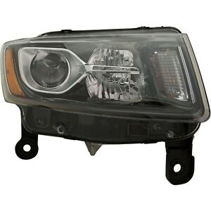 Headlight For 2014 2016 Jeep Grand Cherokee Limited Laredo Overland Summit Right