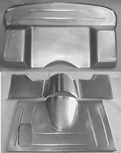 Ford Pickup Truck Floor And Firewall Kit 3 Set Back Dsm